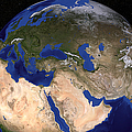 The Blue Marble Next Generation Earth by Stocktrek Images