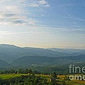 The Blue Ridge Mountains In July 01 by Ausra Huntington nee Paulauskaite