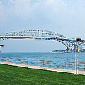 The Blue Water Bridge  by LeeAnn McLaneGoetz McLaneGoetzStudioLLCcom