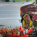 The Bouquet Maker by David Bearden