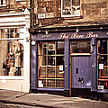 The Bow Bar. Edinburgh. Scotland by Jenny Rainbow
