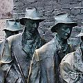 The Breadline Franklin Delano Roosevelt Memorial by Jack Schultz