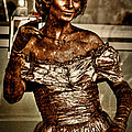 The Bronze Lady In Pike Place Market by David Patterson