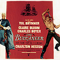 The Buccaneer, Charlton Heston, Yul by Everett