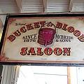 The Bucket Of Blood Saloon In Nevada by Don Struke