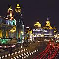 The Bund At Night by Axiom Photographic
