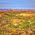 The Canyon In The Distance by Tara Turner