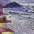 The Choppy Sea by Henri-Edmond Cross