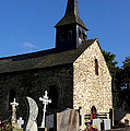 The Church Of Sainte-onenne by Fabrizio Troiani