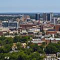 The City Of Birmingham Alabama Usa Vertical by Kathy Clark