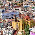 The City Of Guanajuato by John  Kolenberg