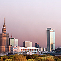 The City Of Warsaw by Artur Bogacki