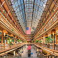 The Cleveland Arcade II by Clarence Holmes