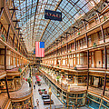 The Cleveland Arcade Iv by Clarence Holmes