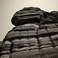 The Cliff Bw by Jouko Lehto