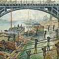 The Coal Workers by Claude Monet