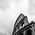 The Colosseum In Rome by Steven Gray