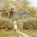 The Cottage Gate by Helen Allingham