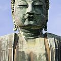 The Daibutsu Or Great Buddha, Close Up by Axiom Photographic