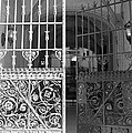 The Dakota Gates In Black And White by Rob Hans