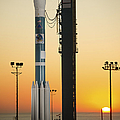 The Delta II Rocket On Its Launch Pad by Stocktrek Images