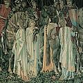 The Departure Of The Knights by Edward Burne-Jones
