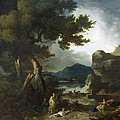 The Destruction Of Niobe's Children by Richard Wilson