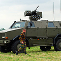 The Dingo II In Use By The Belgian Army by Luc De Jaeger