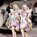 The Dolly Sisters, From Left Betty by Everett