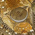 The Dome Of Hagia Sophia by Michele Burgess