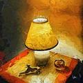 The Evening Lamp by Balram Panikkaserry