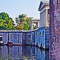The Fairmount Waterworks In Philadelphia by Bill Cannon