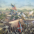 The Fall Of Petersburg To The Union Army 2nd April 1965 by American School