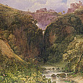 The Falls Of Tivoli by William Wyld