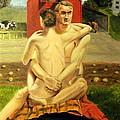 The Farmyard Embrace by Howard Bosler