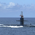 The Fast Attack Submarine Uss Salt Lake by Stocktrek Images