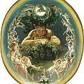 The Faun And The Fairies by Daniel Maclise