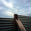 The Fence The Sky And The Beach by Andy Prendy