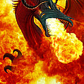 The Fire Dragon by The Dragon Chronicles - Garry Wa