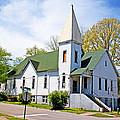The First Christian Church Of Harriman 2 by Paul Mashburn
