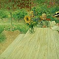 The First Lesson by Carl Larsson