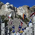 The Flags Of Mount Rushmore by Paul Svensen