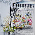 The Flower Stand by Dominique Eichi