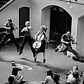 The Flying Quartet Covent Garden by Aldo Cervato