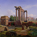 The Forum Rome  by Gustav Palm
