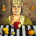 The Fruit Collector 2 by Leah Saulnier The Painting Maniac