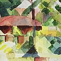 The Garden by August Macke