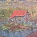 The Garden Barn At Callaway Gardens by Andrew Pierce