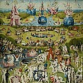 The Garden Of Earthly Delights By Hieronymus Bosch by Pg Reproductions