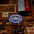 The General Store In Luckenbach Tx by Susanne Van Hulst